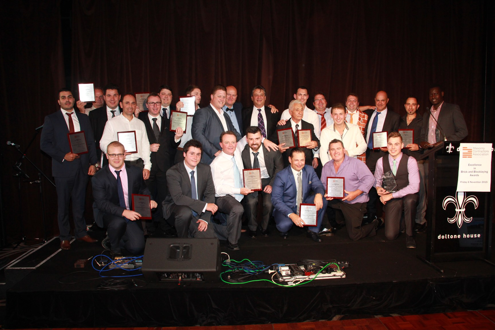 Group Photo Award Winners MCA 2015